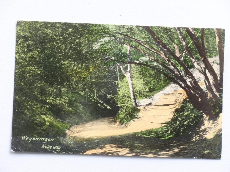 Wageningen, Holle weg  (1910)