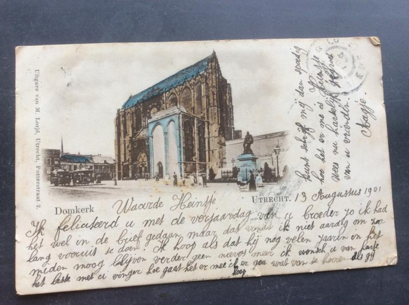 Utrecht, Domkerk, 1901