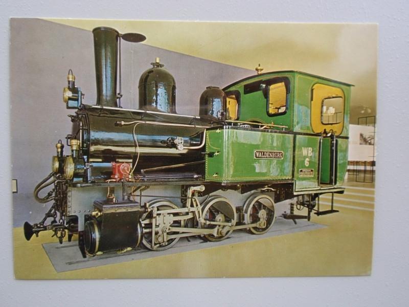 """Dampflokomotive """"Waldenburg"""" der Waldenburgbahn"""