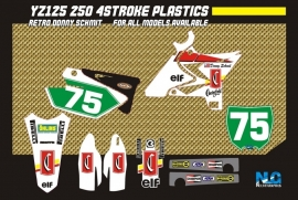 YZ/YZF Chesterfield `` Donny Schmidt`` Graphics