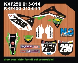 Chevy kawasaki graphicset