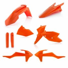 PLASTIC FULL KITS EXC/EXC-F 17/19 - ORANGE 2016