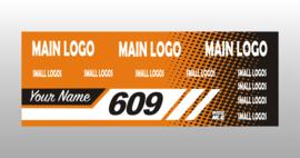 orange Custom banner
