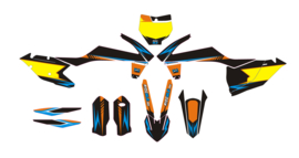 Complete set 100series.  KTM SX-F SX 125 150 250 350 450 2016/2017