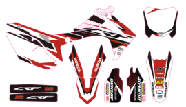 CRF complete set red/white/black
