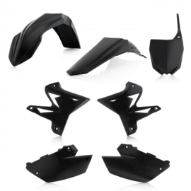 RESTYLE PLASTIC KIT 5 pieces YAMAHA 2 STROKE 02-14 - BLACK