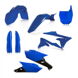 FULL PLASTIC KIT YAMAHA YZF250 14/18 + YZF450 14/17 - BLUE