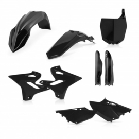 FULL PLASTIC KIT YAMAHA YZ 125-250 2014-2018 - BLACK
