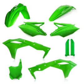 FULL KIT PLASTIC KAWASAKI KXF 250 18/19 - GREEN