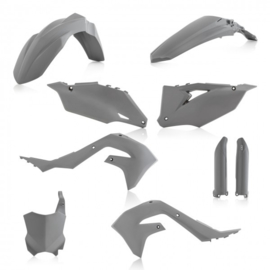 FULL KIT PLASTIC KAWASAKI KXF 450 2019 - GREY