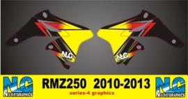 RMZ-250 2010-2013 SERIES-4 RADIATEUR SET