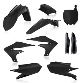 FULL PLASTIC KIT YAMAHA YZF 250 19 + 450 18/19 7 PIECES - BLACK