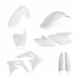 FULL KIT PLASTIC RMZ 450 08 -17 - WHITE