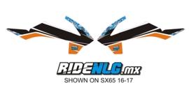 radia set Ktm SX 65 2016/2017 Camo1