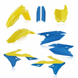 FULL KIT PLASTICS SUZUKI RMZ 450 18/19 - YELLOW/BLUE