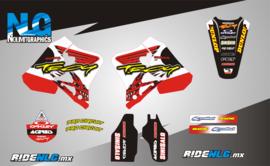 Honda CR125 95-97 CR250 95-96 HOT Graphics