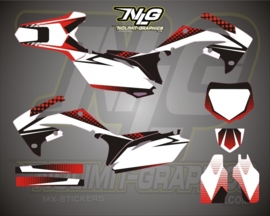 CRF complete graphic kit Bubble2 250-10-12 45009-12