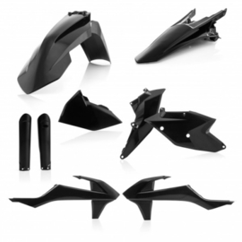 PLASTIC FULL KITS EXC/EXC-F 17/19 - BLACK