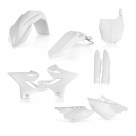 FULL PLASTIC KIT YAMAHA YZ 125-250 2014-2018 - WHITE