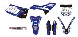 Evo kit blue Yamaha YZ125 250