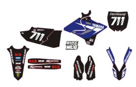 Yz125 -2015-18 complete set black