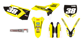 Evo kit Yellow Yamaha YZ125 250