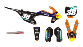 SX85 2018 -2019 TLD set