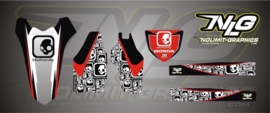 SkullCandy trim set Kit voor CRF 250-2010-12 en CRF450-09-12
