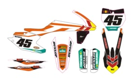 Complete set MX decals KTM set 11