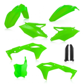 FULL KIT PLASTIC KAWASAKI KXF 250 18/19 - FLO GREEN