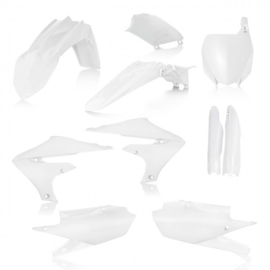 FULL PLASTIC KIT YAMAHA YZF 250 19 + 450 18/19 7 PIECES - WHITE