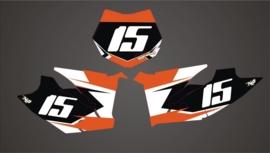 SX SXS 2011 - 2012 series 2 numberplate set