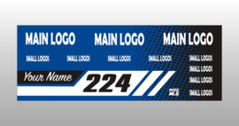 Blue Custom banner