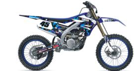 complete set Camo blue  Yamaha YZF 250-450 2019