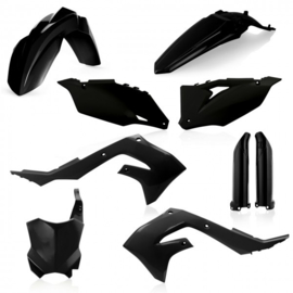 FULL KIT PLASTIC KAWASAKI KXF 450 2019 - BLACK