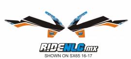 radia set Ktm SX 50 2016/2017 camo1