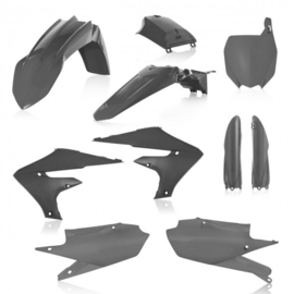 FULL PLASTIC KIT YAMAHA YZF 250 19 + 450 18/19 7 PIECES - GREY