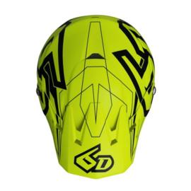 6D ATR-2 Aero Helmet Neon Yellow Matte