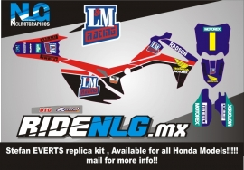 Honda Stefan Everts Replica kit