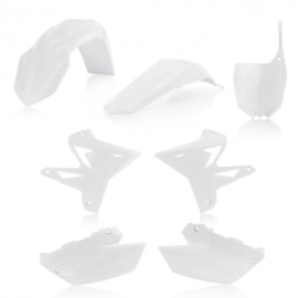 RESTYLE PLASTIC KIT 5 pieces YAMAHA 2 STROKE 02-14 - WHITE