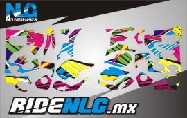 MX Boots /crosslaarzen Graphics