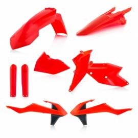 PLASTIC FULL KITS EXC/EXC-F 17/19 - FLO ORANGE