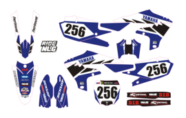 YZF450 -18-19 Yamaha YZF 250-450 2019 set blue/white