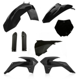 FULL KIT PLASTIC KTM SX 85 2013-2017 - BLACK