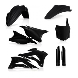 PLASTIC FULL KITS KAWA 85/100 14/19 - BLACK