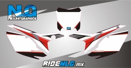MX1 series Honda #plates