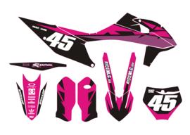 KTM complete set strider pink