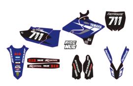 Yz125 -2015-18 complete set blue