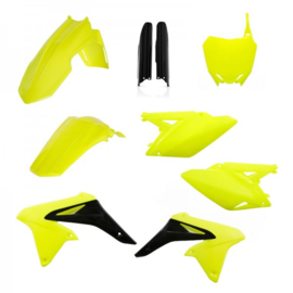 FULL KIT PLASTICS RMZ 250 2010-2018 - FLO YELLOW