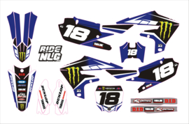 YZF450 -18-19 Yamaha YZF 250-450 2019 factory set